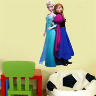 Adesivo Papel De Parede Frozen Rainha Elsa e Anna