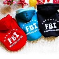Roupinha Para Cachorro Pet Inverno - FBI