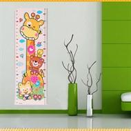 Adesivo Girafinha para medir a altura da criança