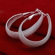 Brinco Fashion Luxo Prata 925