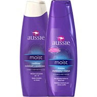 Kit Shampoo E Condicionador Aussie Moist Hidratante 400ml