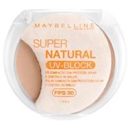 Maybelline Super Natural UV Block Pó Compacto FPS 30 Médio