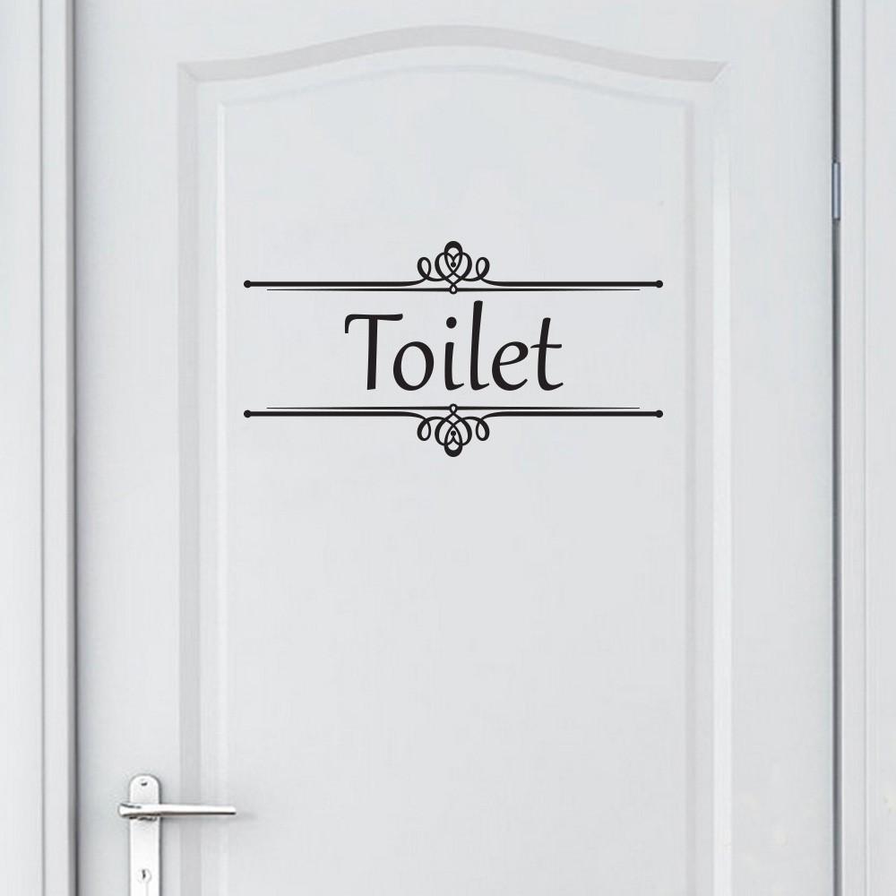 Valmor Artesanato Joinville ~ Adesivo de Porta de Banheiro Toilet Bathroom Vintage