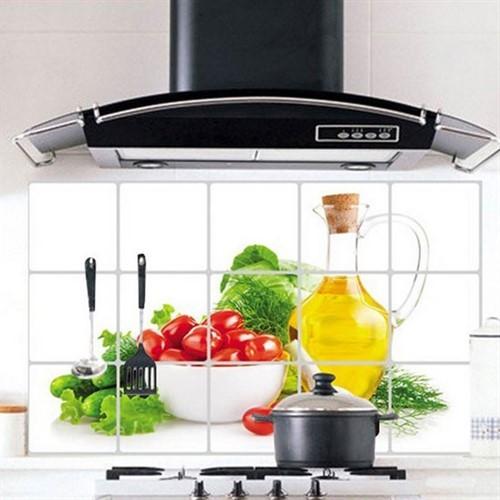 Adesivo De Parede Para Cozinha - Proteção De Azulejo