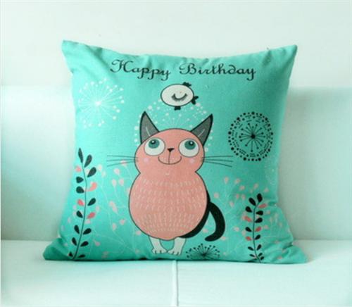 Capa de Almofada Decorativa Gatinhos