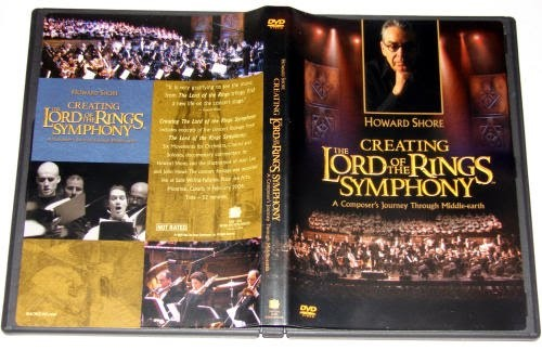 Sinfonia do Senhor dos Anéis DVD - Creating The Lord of the Rings Symphony