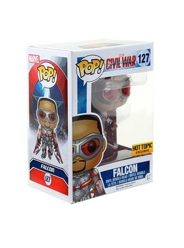 Falcão Falcon - Capitão America 3 - Guerra Civil Funko Pop Marvel