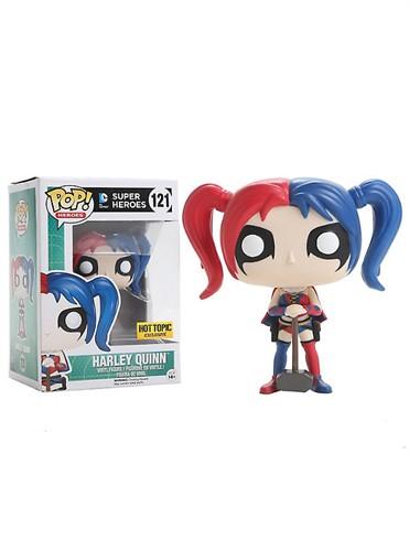 Harley Quinn - Super Heroes DC Comics - Funko POP HOT TOPIC