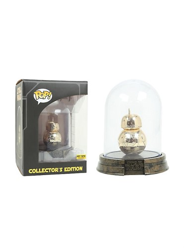 BB-8 Star Wars The Force Awakens Collector's Edition Gold - Funko POP HOT TOPIC