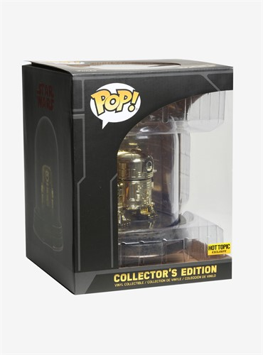 R2-D2 Star Wars Collector's Edition Gold - Funko POP HOT TOPIC
