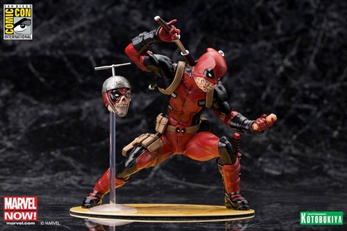 Deadpool Chimichanga MARVEL Escala 1/10 ArtFX Estátua - Kotobukiya