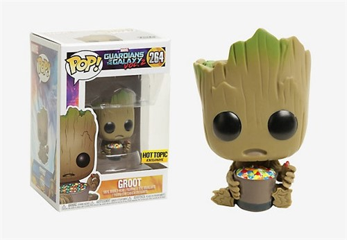 Baby Groot (doces) - Guardiões da Galáxia Vol. 2 - Funko POP MARVEL Hot Topic