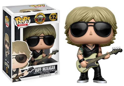 Kit Axl Rose Slash Duff McKagan - Guns N Roses - Funko POP Rocks