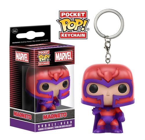 Magneto - X-Men MARVEL - Funko Pocket Chaveiro