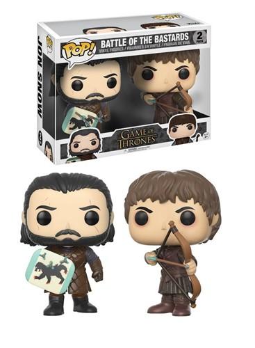 Jon Snow e Ramsay Snow - Battle of the Bastards - Game Of Thrones - Funko Pop