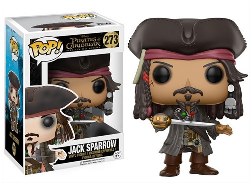 Jack Sparrow - Piratas do Caribe - A Vingança de Salazar - Funko POP Disney