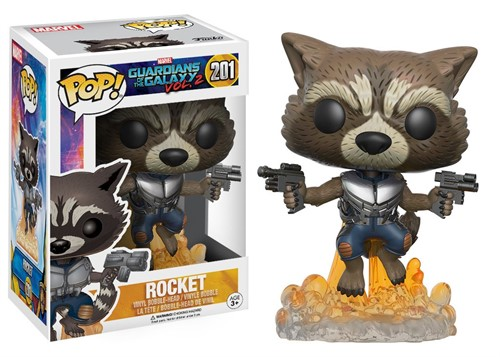 Rocket - Guardiões da Galáxia Vol. 2 - Funko POP MARVEL
