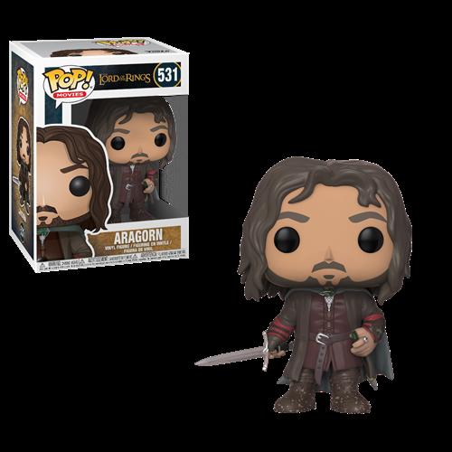 Aragorn #531 - O Senhor dos Anéis - Hobbit - Funko POP Filmes
