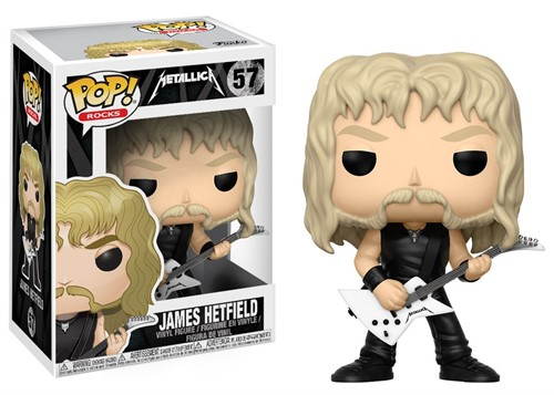 James Hetfield - Metallica - Funko POP Rocks