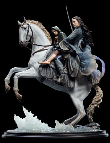 Arwen e Frodo em Asfaloth - Art Scale 1/6 - Weta Workshop