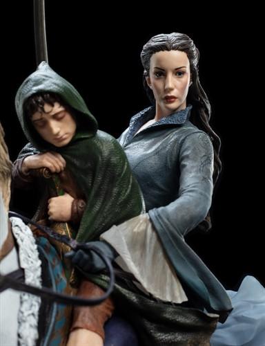 Arwen e Frodo em Asfaloth - Art Scale 1/6 - Weta Workshop
