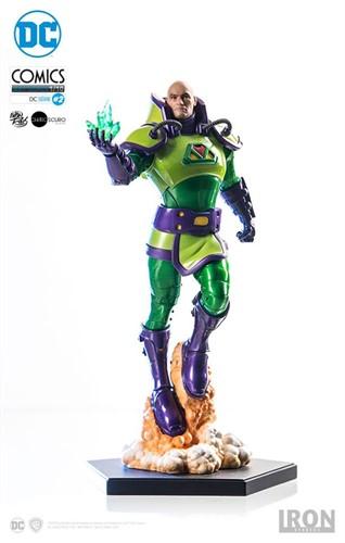 Lex Luthor Art Scale 1/10 - DC Comics Série 2 by Ivan Reis IRON STUDIOS