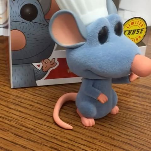 Remy - Ratatouille - Funko POP Disney EXCLUSIVO