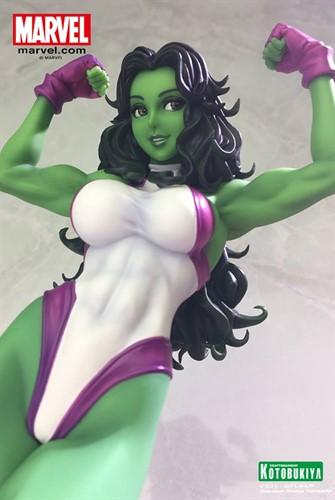 She-Hulk Bishoujo - Marvel Kotobukiya Statue