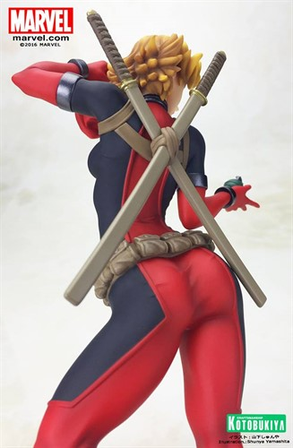 Lady Deadpool MARVEL Bishoujo Estatua Escala 1/7 - Kotobukiya