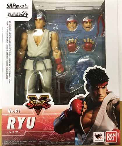 Ryu Street Fighter S. H. Figuarts - BANDAI