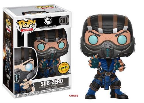 Sub-Zero - Mortal Kombat - Funko POP Games Exclusivo