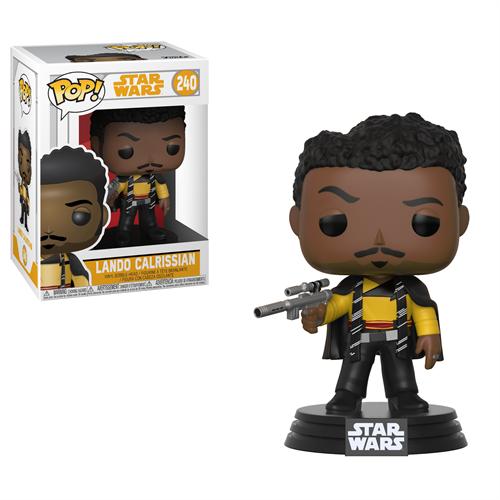 Lando Calrissian - Star Wars: Solo Bobble Head- Funko POP Vinyl
