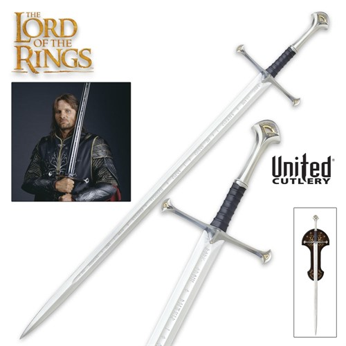 Espada Anduril Aragorn Lord of The Rings - United Cutlery UC1380