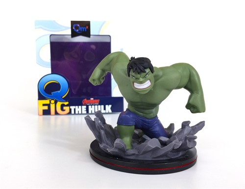 Hulk Avengers MARVEL - Q-Fig - QUANTUM MECHANIX Exclusivo Loot Crate