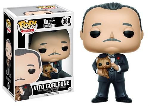 Don Vito Corleone - The Godfather - O Poderoso Chefão - Funko POP Filmes