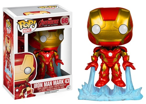 Iron Man Mark 43 - The Avengers 2 Age of Ultron - Os Vingadores 2 - Funko POP Marvel