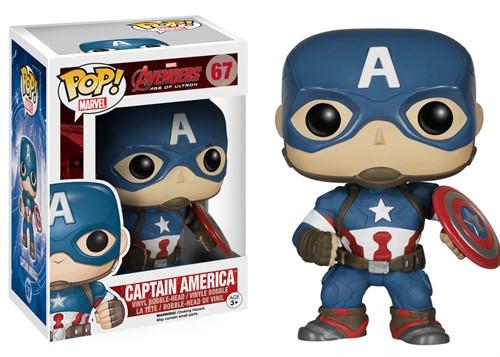 Capitão America - The Avengers 2 Age of Ultron - Os Vingadores 2 - Funko POP Marvel
