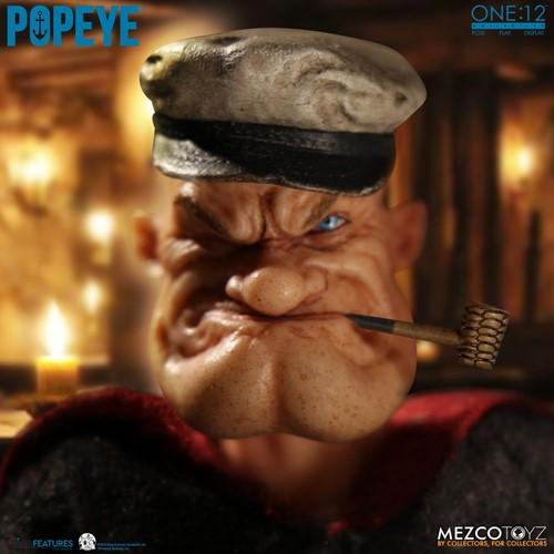 Popeye - Escala 1/12 Action Figure - Mezco Toys
