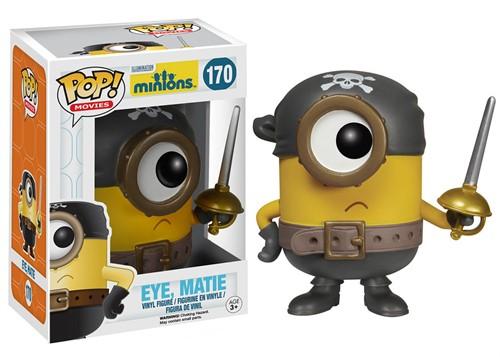 Eye, Matie-Minion - Minions - Funko POP Filmes