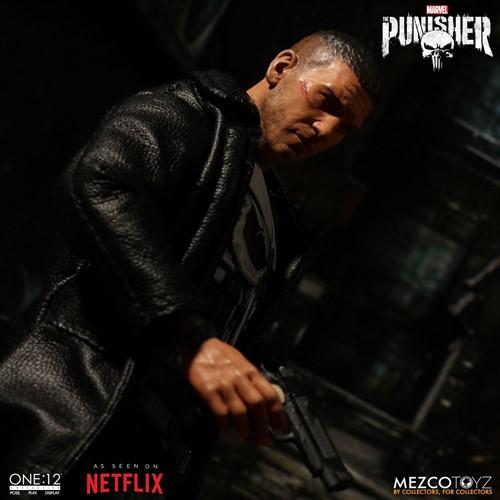 The Punisher O Justiceiro MARVEL Netflix - Escala 1/12 Action Figure - Mezco Toys