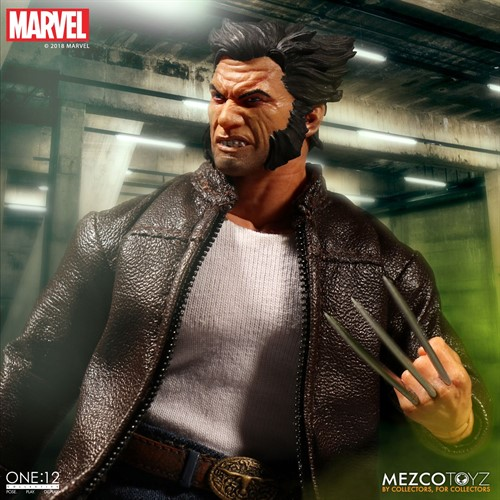 Logan - Wolverine MARVEL - Escala 1/12 Action Figure - Mezco Toys