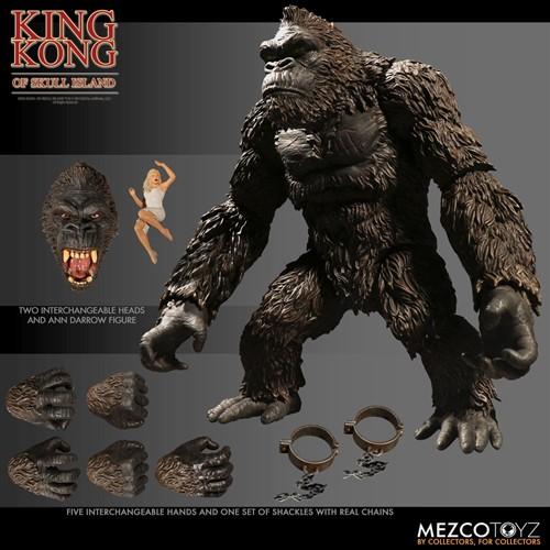 King Kong - Ilha da Caveira - Mezco Toys