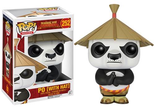 Po com Chapéu - Kung Fu Panda - Funko POP Filmes