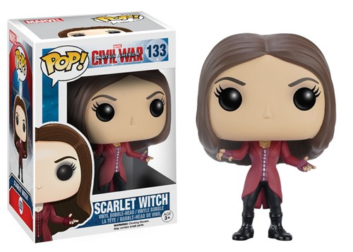 Scarlet Witch - Capitão America 3 - Guerra Civil - Funko POP MARVEL