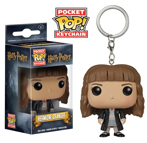 Hermione Granger - Harry Potter - Funko Pop Pocket Chaveiro