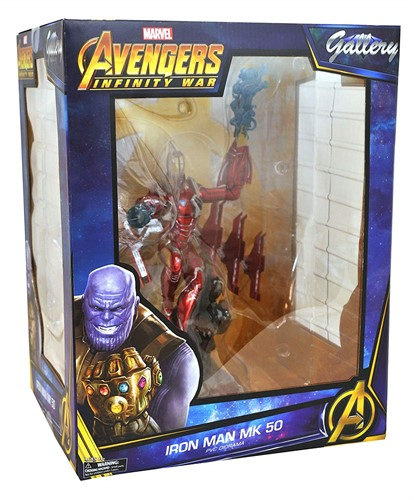 Iron Man Mark 50 Avengers: Infinity War Marvel Gallery Statue - Diamond Select Toys