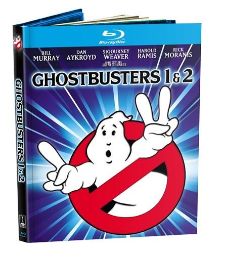 Os Caça Fantasmas 1 E 2 Ghostbusters - Blu-ray Digibook