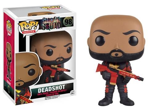 Deadshot - Esquadrão Suicida Suicide Squad - Funko Pop Heróis