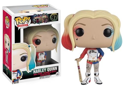 Harley Quinn - Esquadrão Suicida Suicide Squad - Funko Pop Heróis