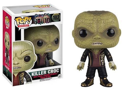 Killer Croc - Esquadrão Suicida Suicide Squad - Funko Pop Heróis